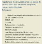 Comunicación de TRYP Ciudad de Elche Hotel