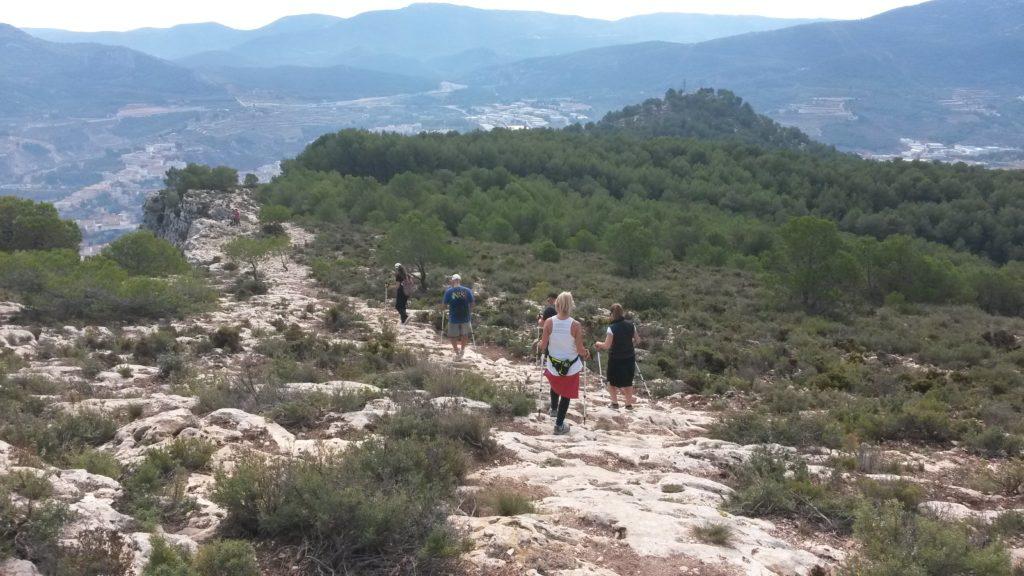 Ruta de Marcha nórdica Barranco del Cint