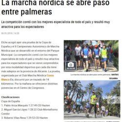 Articulo del Diario Información de la competición.