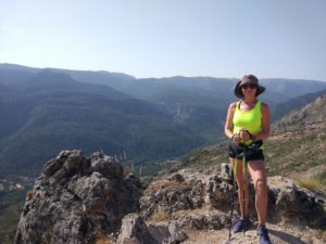 Instructora de MarchaNórdica - Nordic Walking