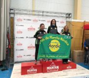 podium lurbel mountain festival nordic walking