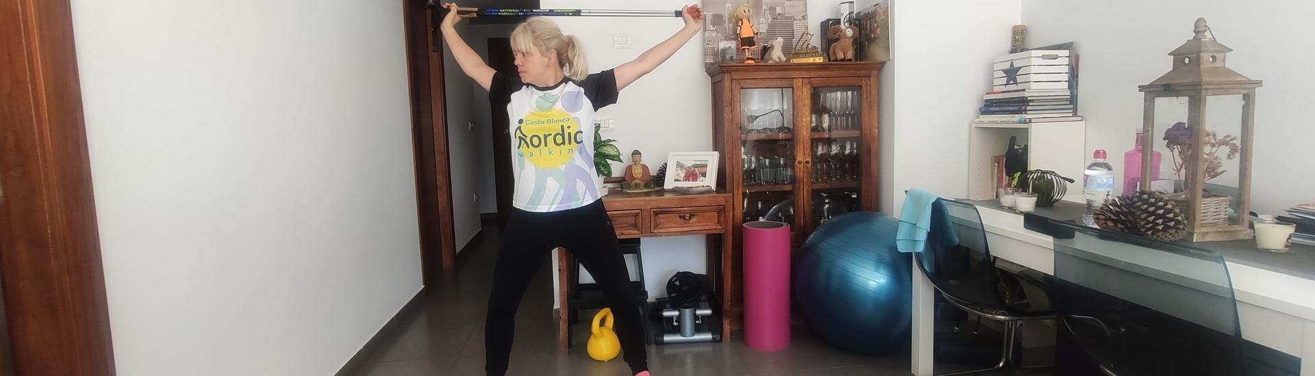 Hoy 6 de abril es el día mundial de la actividad física, nuestro granito de arena con la Marcha Nórdica