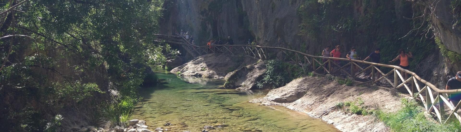 Ruta circular del Forat de la Sierra de Bernia